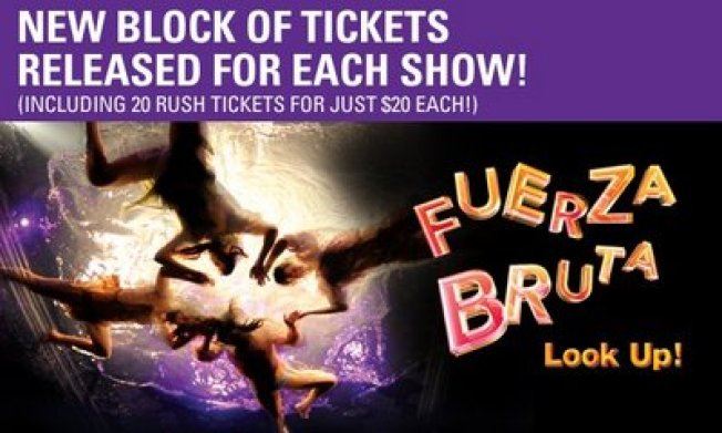 Rush Tickets @ Fuerza Bruta