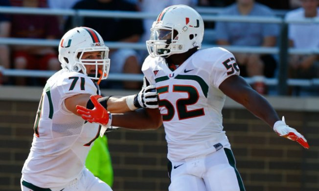 Canes Shuffle Depth Chart Ahead of ND Game