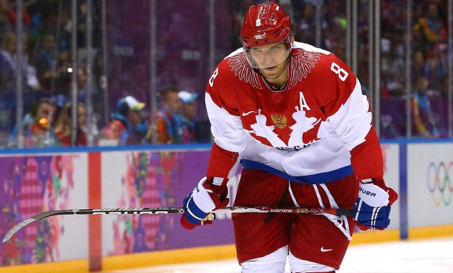 On Golden Ponds: Team Russia's Offense Looks for a Spark