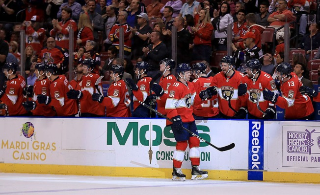 Matheson Scores in Overtime to Lift Florida Panthers Over Pittsburgh Penguins