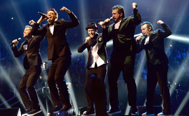 'N Sync Reunites for JC Chasez's 40th Birthday