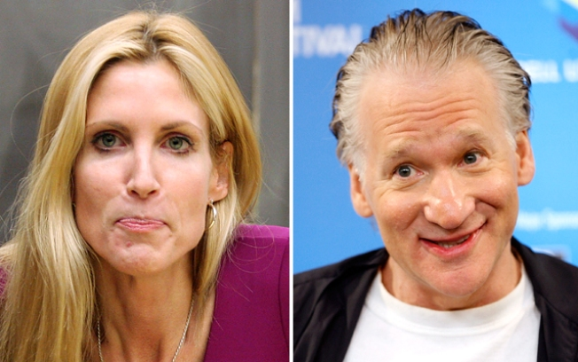 Coulter, Maher Spar at Radio City