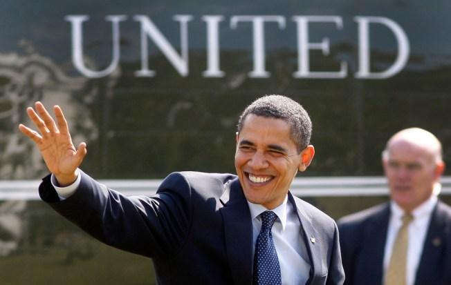 Obama Takes Rosier View On Economy