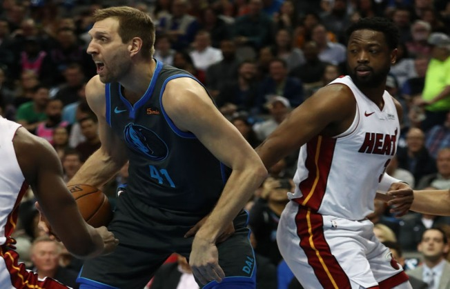 Dwyane Wade Helps Miami Heat Top Dallas Mavericks in Final Game at Site of First Title