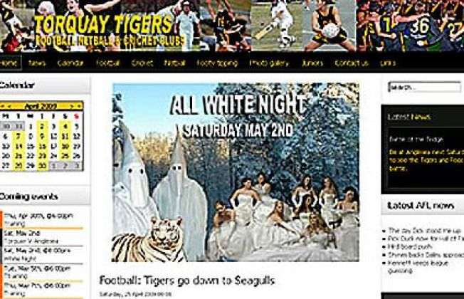 "Rugby Team Uses KKK Photo To Promote ""White Out"""