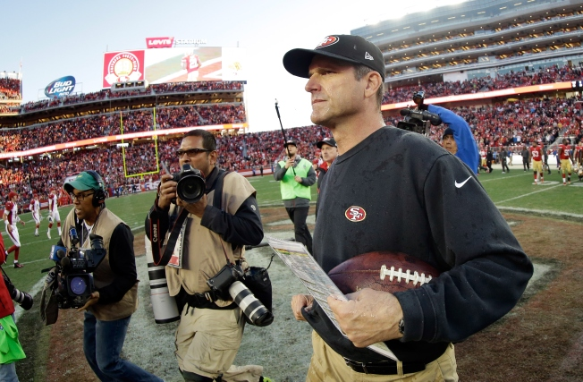 49ers, Jim Harbaugh Mutually Agree to Part Ways