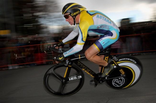 Lance Armstrong's Bike Stolen In Sacramento