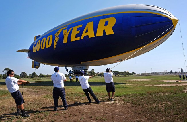 Goodyear Retires Blimps, But Replacements Are on Their Way