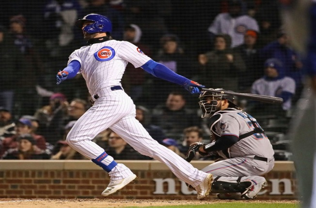 a7d9b3547 Kris Bryant s Walk Off Homer Gives Chicago Cubs Win Over Miami ...