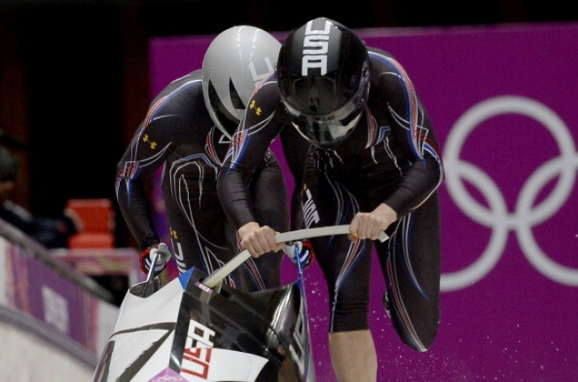 USA's Meyers and Williams Lead in Olympics Women's Bobsled