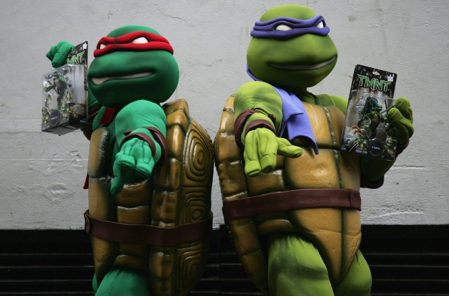 Ninja Turtles Turn 25 With NYC's Help