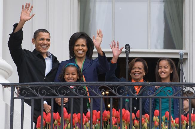 First Grandma Finally Feels at Home in White House