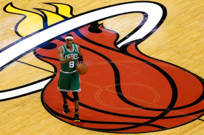 Celtics' Rondo Vows He Will Never Play for the Heat