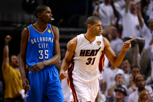 Heat's Battier Could Miss Next Two Games