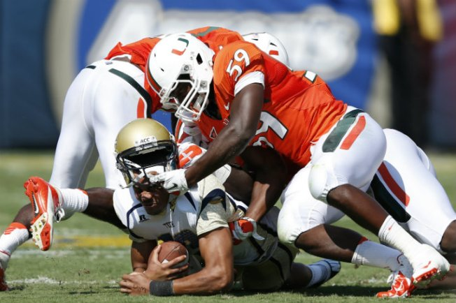 Miami Hurricanes-Georgia Tech Yellow Jackets Preview: Incoming Swarm