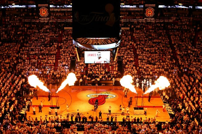 Ticket Prices Heating Up for NBA Finals Games in Miami