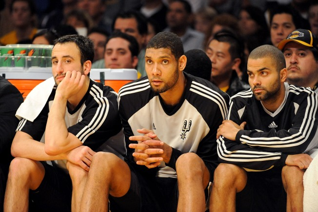 Ginobili Done For Year, So Are Spurs