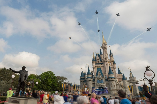Walt Disney World Offers Discounted Tickets to Military Members