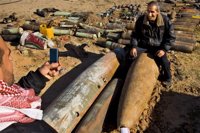 UN: 5 Tons of Bombs Stolen Under Hamas Guard