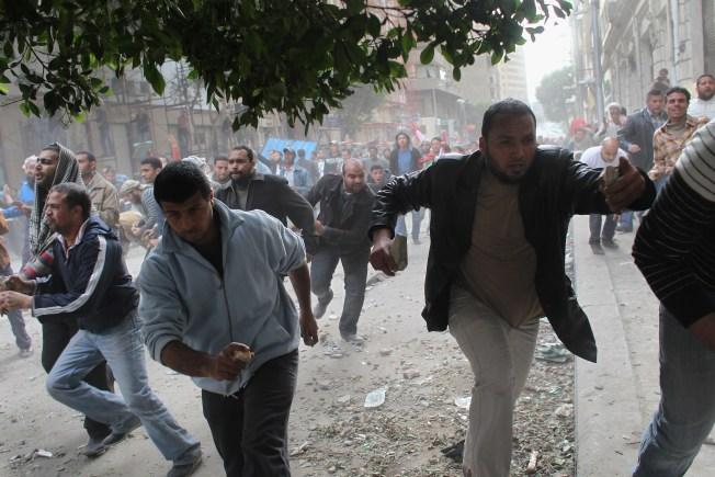 Egyptian Turmoil Forces U.S. Students to Flee