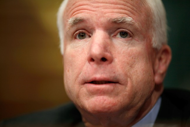 McCain: Obama's Bill Robs Our Kids