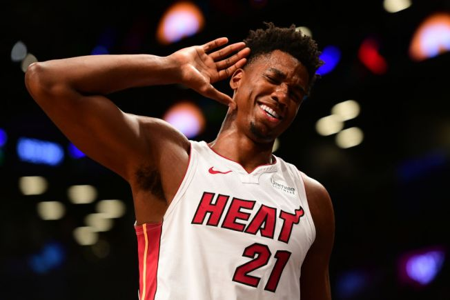 Hassan Whiteside Leads Miami Heat Past Portland Trail Blazers