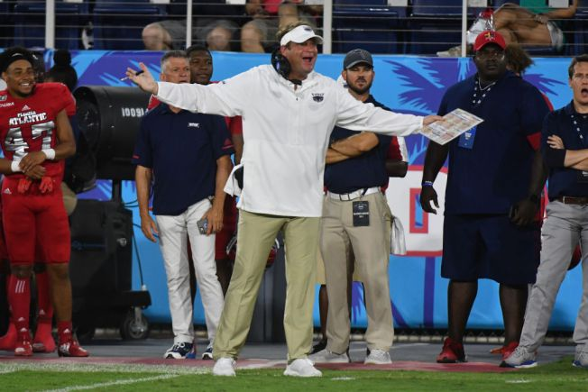 FAU Football Coach Lane Kiffin Fined for Tweet Criticizing Officials