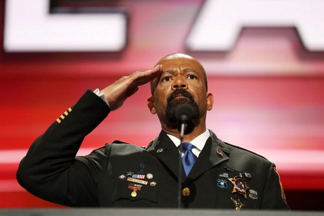 Milwaukee Sheriff, Trump Supporter David Clarke Resigns