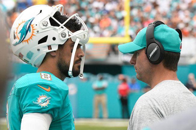Dolphins Quarterback Returns After Violent Hit