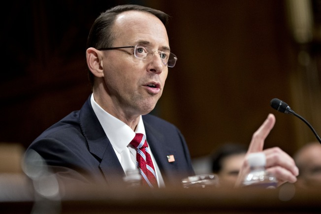 FBI Firing Fallout: 6 Things to Know About Deputy Attorney General Rod Rosenstein