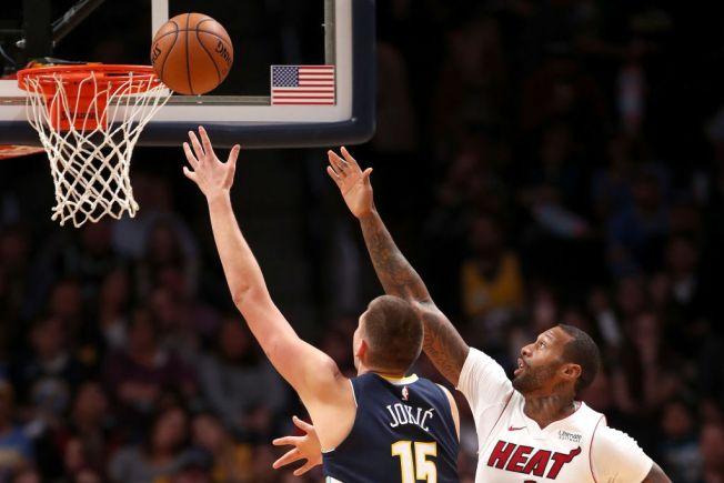 Jokic, Beasley Lead Denver Nuggets Past Miami Heat