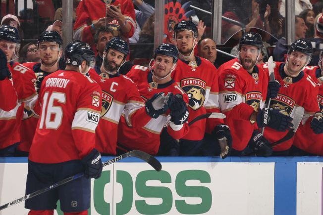 Big Night For Barkov as Florida Panthers Beat New Jersey Devils
