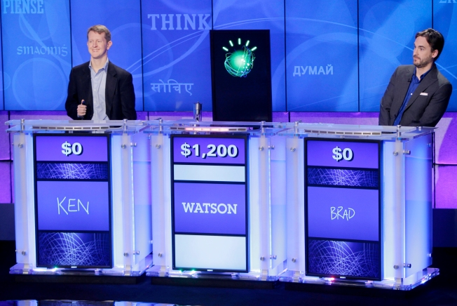 "IBM Computer Beats 2 ""Jeopardy!"" Champs"