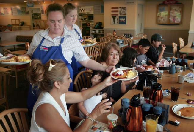 Free Pancakes Tuesday at IHOP for National Pancake Day