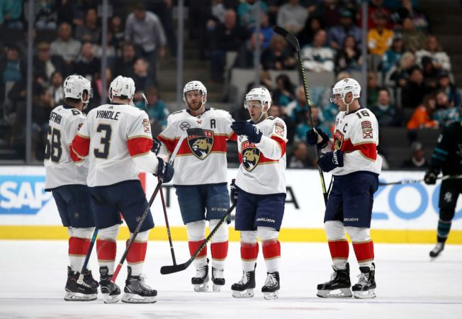 Florida Panthers Deny San Jose Sharks Playoff Clincher With 4-2 Win