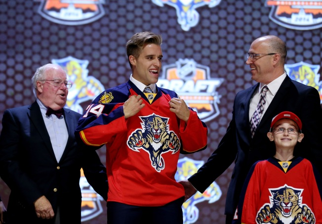 Panthers Pick Aaron Ekblad With Number One Overall Pick