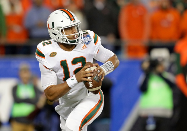 It's Miami and Badgers in the Orange Bowl