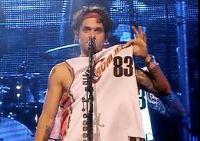 John Mayer Plans To Rile Miami With Onstage Cavs-Wear