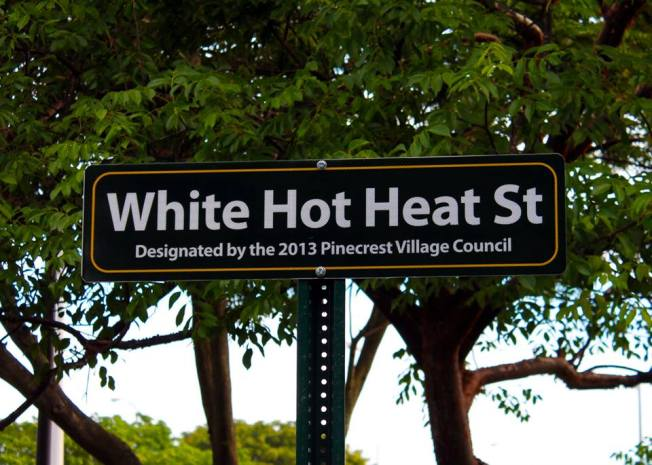 Pinecrest Names Street After Miami Heat