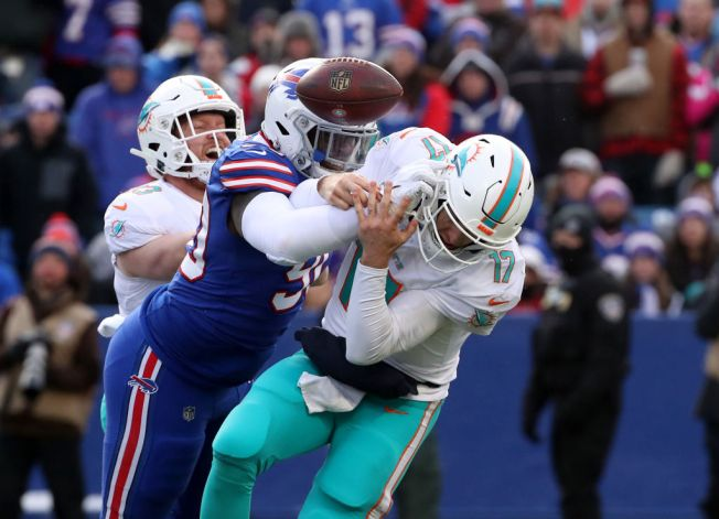 Miami Dolphins Suffer 2nd Straight Losing Season After Blowout Loss to Buffalo  Bills. Getty Images 9c3b7e3d8