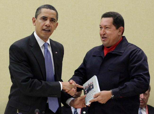 Gingrich slams Obama over Chavez