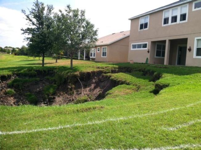 Massive Sinkhole Found Near Orlando Home