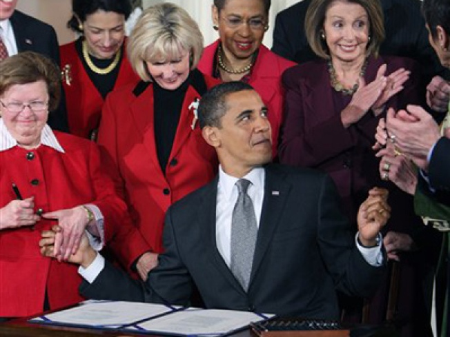 Obama's First Law: Equal Pay for Women