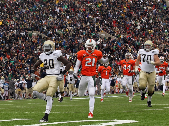 Looking Back at the Irish and Canes' Last Clash