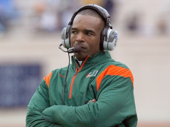 Randy Shannon Drinks Not From the Pimp Cup