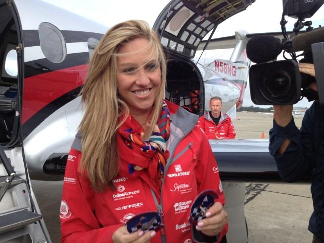 Amelia Earhart Namesake Completes Global Flight