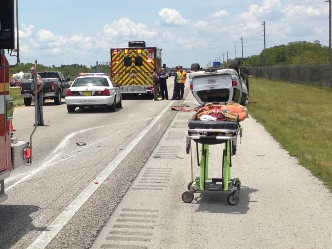 Child Dies in Alligator Alley Rollover Accident