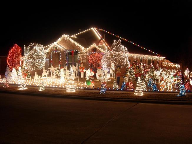 christmas lights burn home down