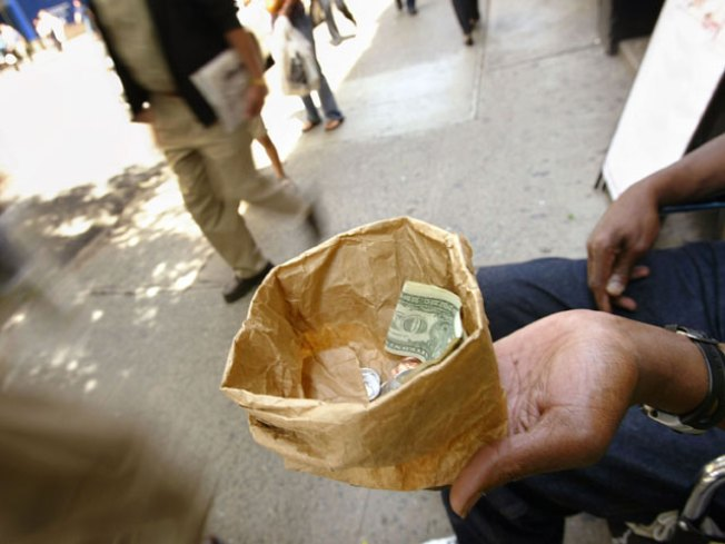 Panhandlers Pushed Further Out of Downtown Miami