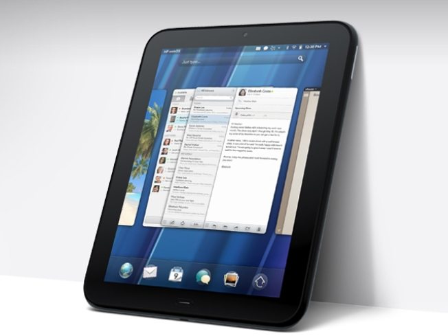 HP Rolls Out the Tablet and Phones